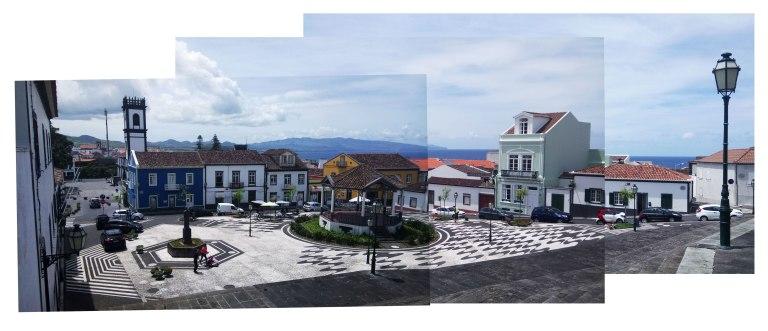 Central Square of Ribeira Grande