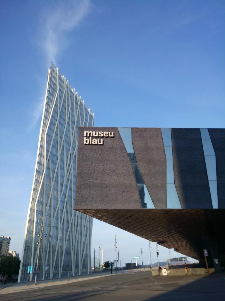 Museu Blau and Torre Telefonica