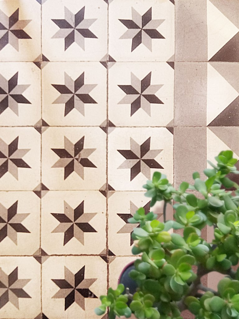cement tile design detail