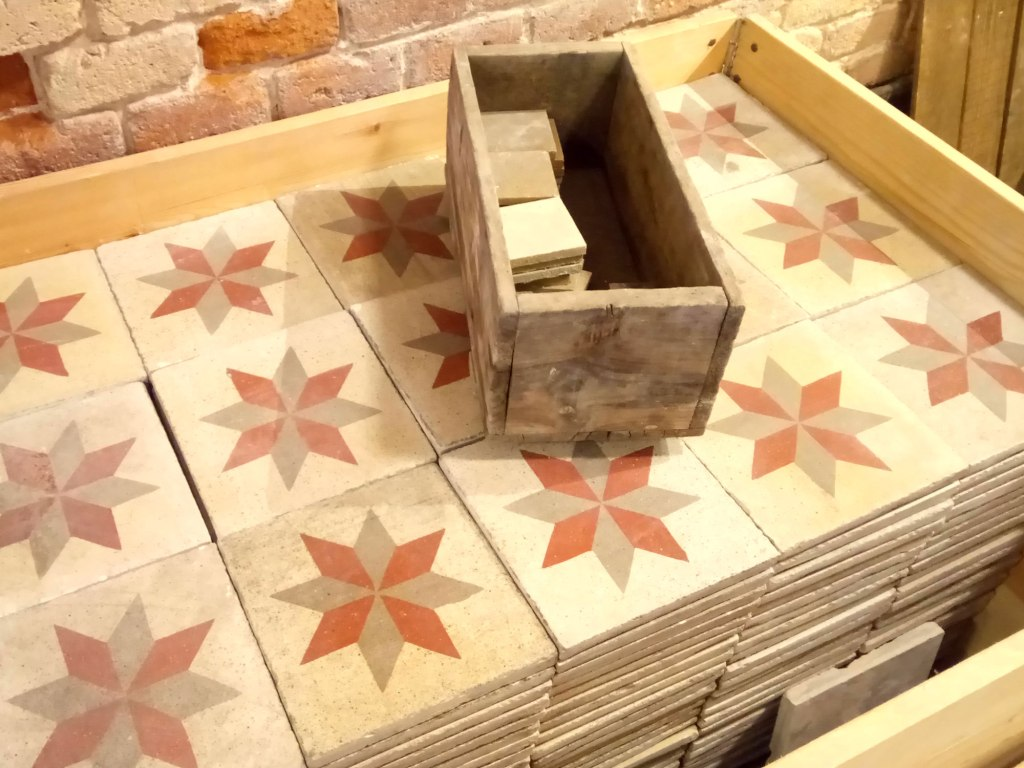 rajoles from tile producer Pinar Miro in Barcelona