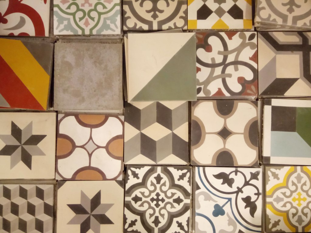 hydraulic cement tile designs and colours Barcelona
