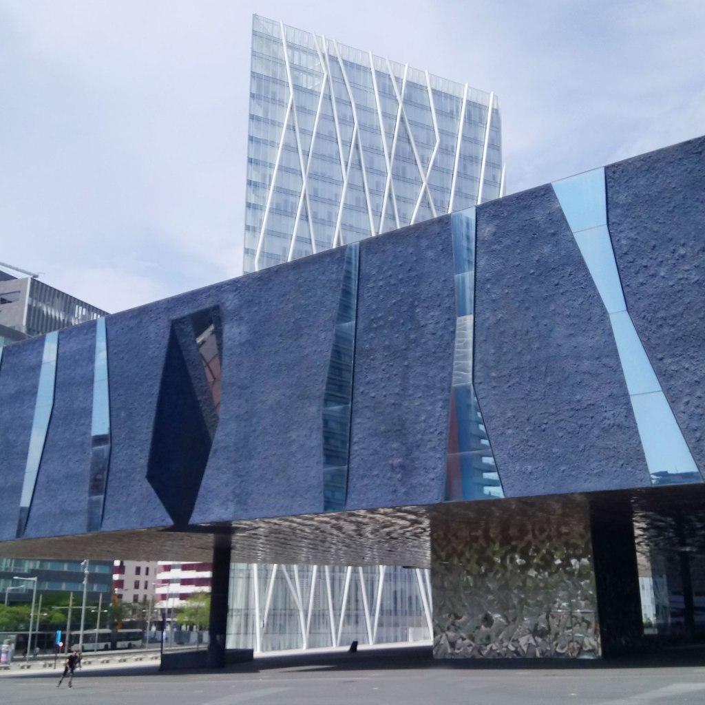 Torre Telefonica Diagonal Zero Zero and Museu Blau Barcelona