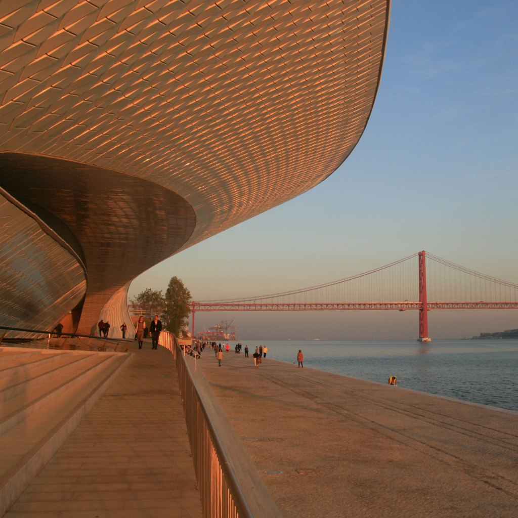 MAAT Museum of Architecture Art and Technology Belem 2016 Amanda Levete architect
