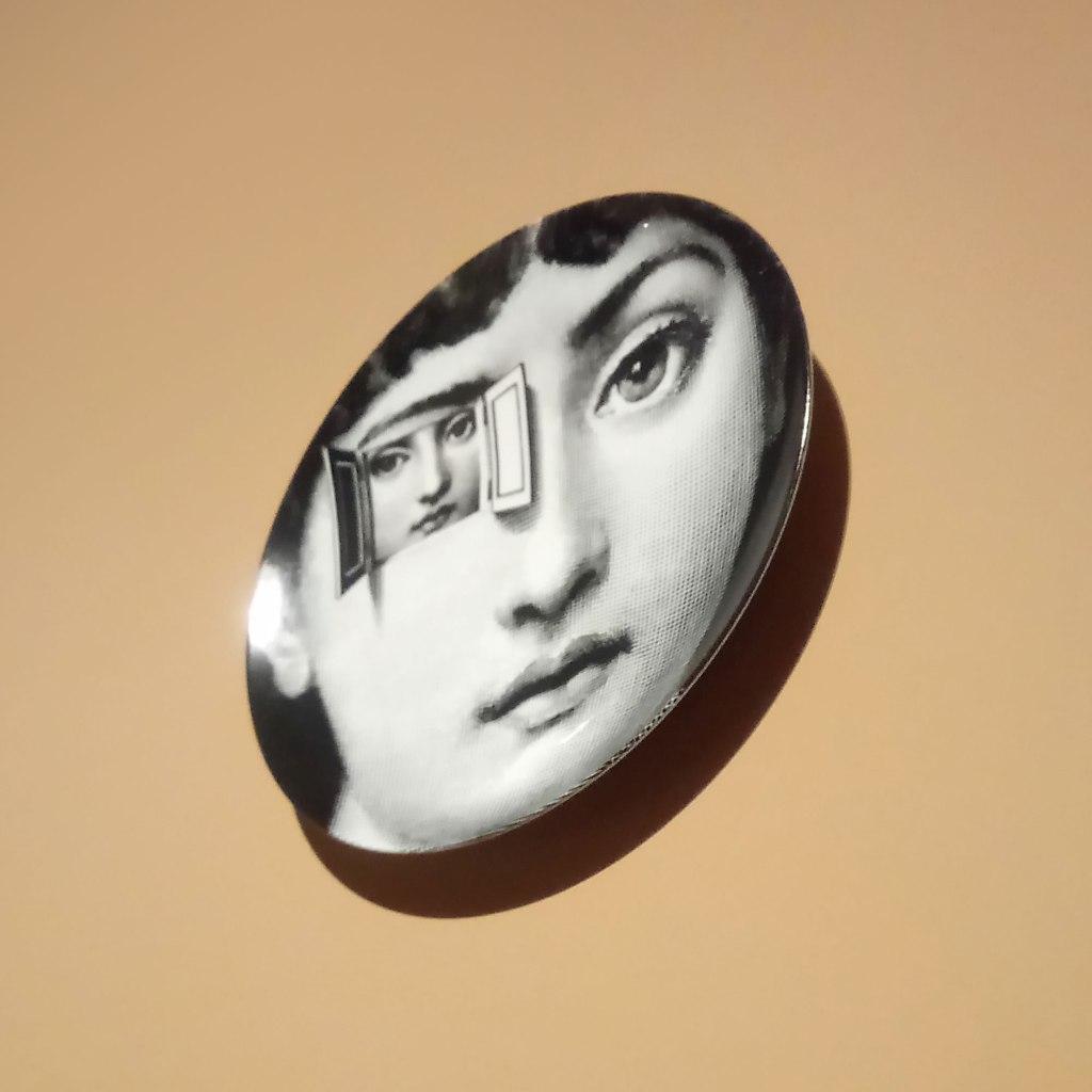 Pietro Fonasetti plate Objects of desire exhibition CaixaForum Barcelona